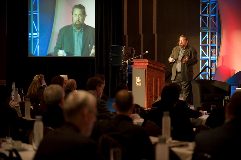 SNS CEO Mark Anderson welcomes participants to FiReGlobal : West Coast