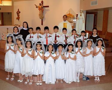 Vietnamese Martys 1st Communion 2014