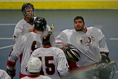 5/26/2013 - Six Nations Slash vs. Onondaga Redhawks - Tsha' Hon'nonyen'dakhwa', Onondaga Nation Territory (Onondaga Nation Arena, Nedrow, NY)