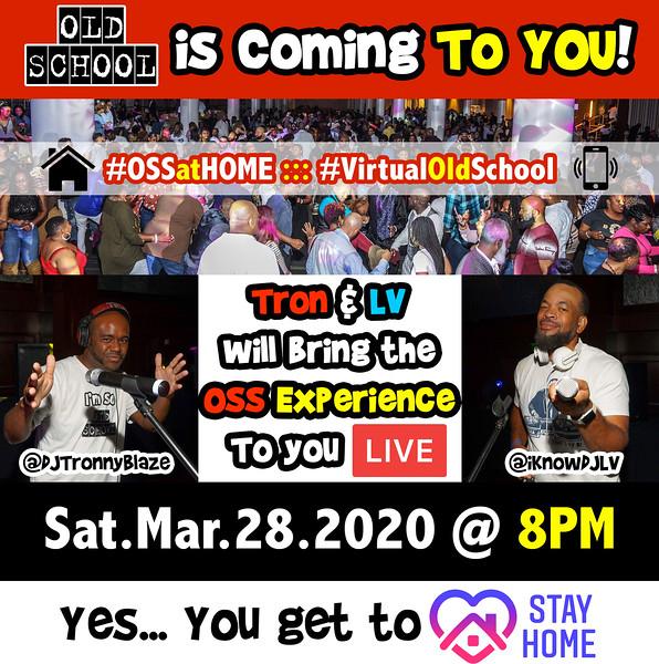 Mar.28.2020 OSS --- REMOTE VIRTUAL Event ::: ATL, GA, USA #OSSatHOME #VirtualOldSchool