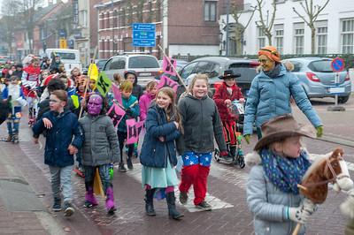 Carnavalstoet scholen Wuustwezel-centrum 2018