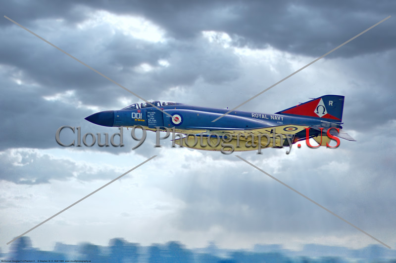 F-4-British 004 A flying McDonnell Douglas FG.1 Phantom II British Royal Navy Sqd 767892, XT856, World Speed Record Holder New York to London, 6-1969 Yeoviton, military airplane picture by Stephen W. D. Wolf     853_8063     Dt.JPG