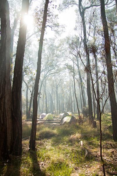 Smoky camp