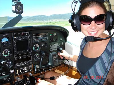 Anna Flies a Plane!