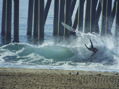 12/24/19 * DAILY SURFING PHOTOS * H.B. PIER