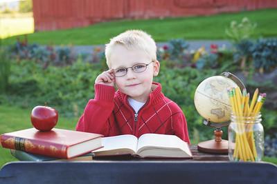 Ezra - Back to School Pictures