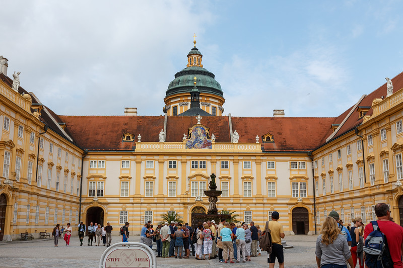 Melk Abbey in Austria, a Benedictine Monastery dating back to the 11th century