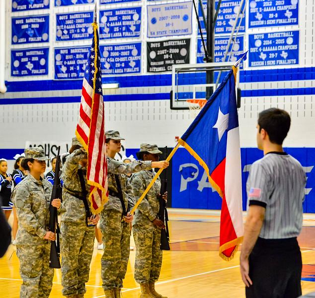 Lady Panthers Varsity Arlington Martin 01-22-16-4
