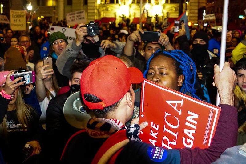 USA - 2017 - Anti-Trump Protesters in Washington, D.C.