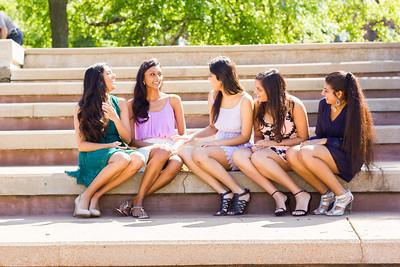Nishita, Jayni, Niva, Mumtu & Kavisha's Graduation 2015