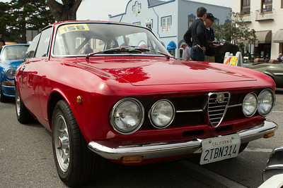 2014 Pacific Grove Concours Auto Rally