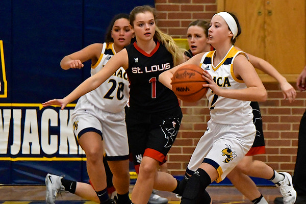MS Ithaca vs St. Louis Girls Basketball