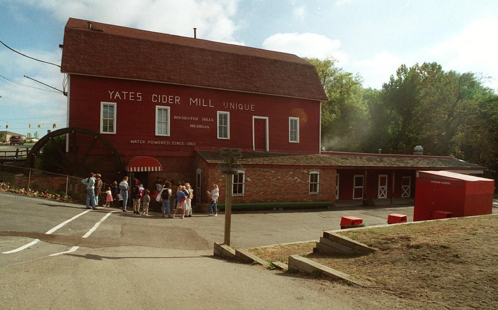 . Yates Cider Mill in Rochester Hills.