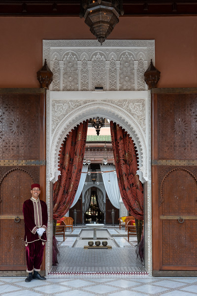 Royal Mansour in Marrakech, Morocco