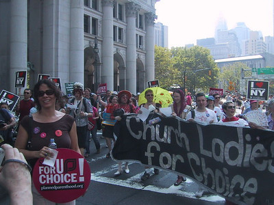 Reproductive Rights March - August 28, 2004
