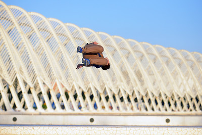 GREEK TRACEURS AND FREERUNNERS