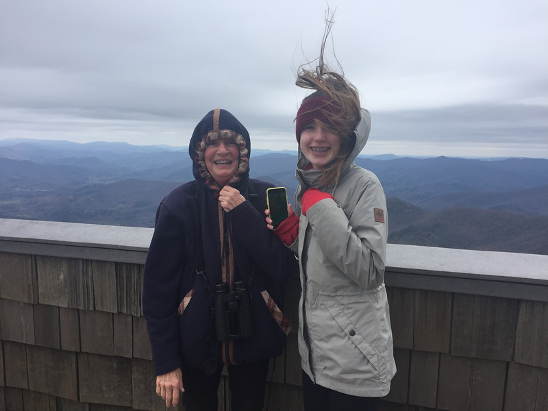 2018_03_26_Brasstown Bald_Mimi and Kathleen - 2