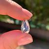 3.33ct Pear Shaped Rose Cut Diamond 1