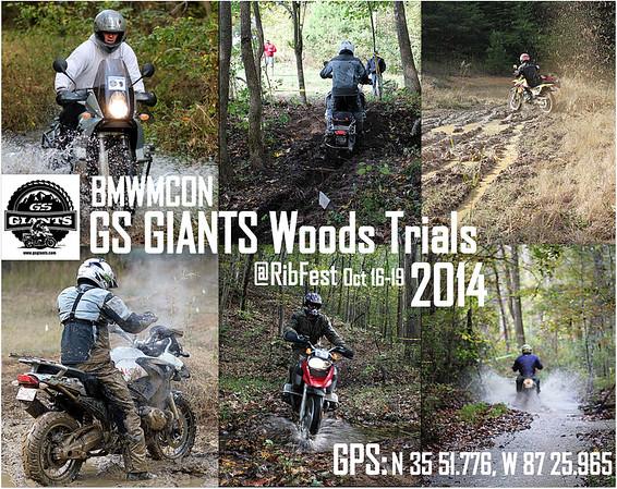 Ribfest - GS GIANTS Woods Trials 2014