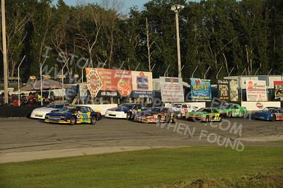 ASA Midwest Sportsman Tour Racing Action