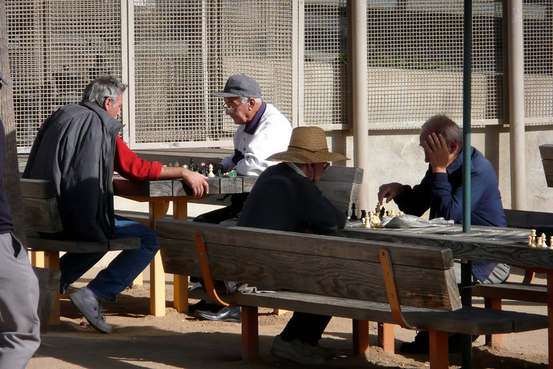 Chess Players. Oceanfront Walk, Santa Monica