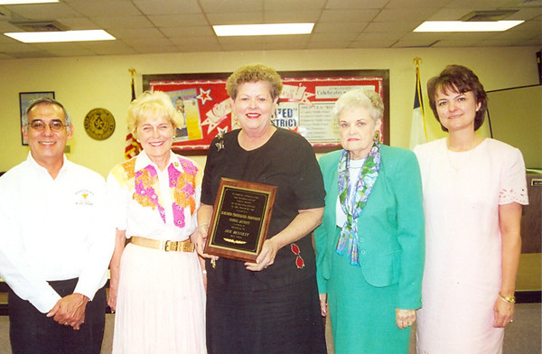 May 2000 Retirees and Years of Service Awards