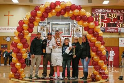 CN Basketball 2019-Senior Night