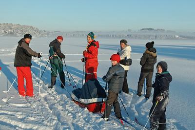 Dezember 2010: Mit Wirowskis und Riesens auf dem Stokka
