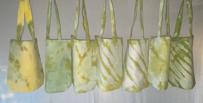 Canvas Bags, Tie=Dye