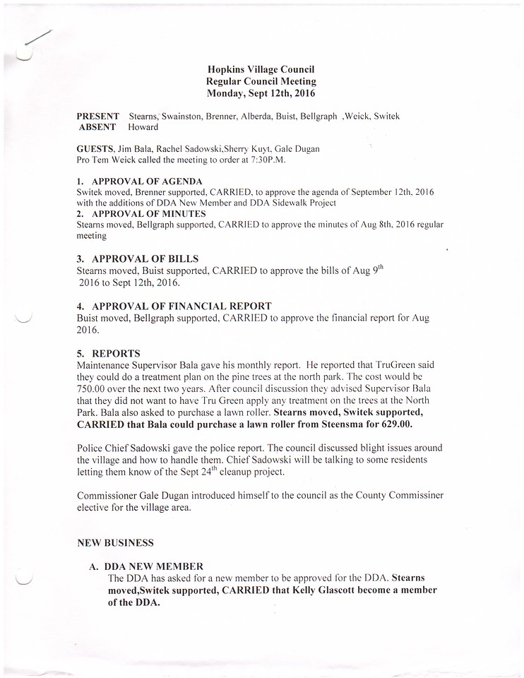 Sept 2016 Meeting Minutes pg1