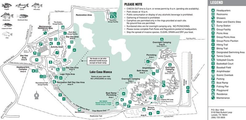 Lake Casa Blanca International State Park