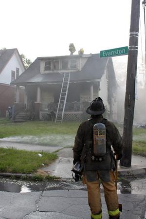 House Fire ~ Evanston & Barrett