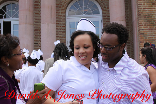 Desiree's Pinning Hampton University