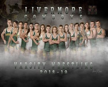 LHS Wrestling JV and Varsity 2018-19 Season