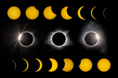 moon - planets - stars