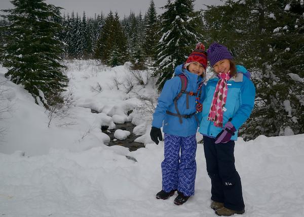 Christmas Break 2012 Snowshoe Hike