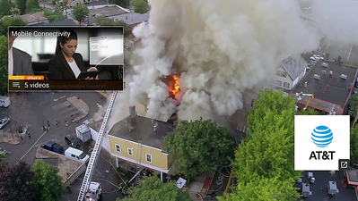 AT&T Ad Licensing FIREGROUNDIMAGES Drone Footage (May 2017)
