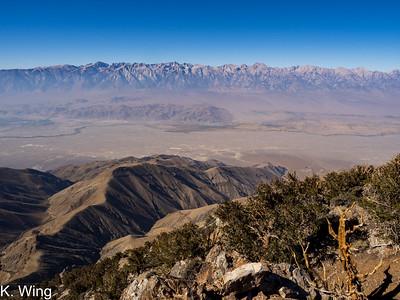Keynot Peak via Union Wash in the Inyos  10.13.2020