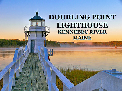 Doubling Point Lighthouse, Maine