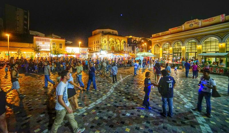 Athens square