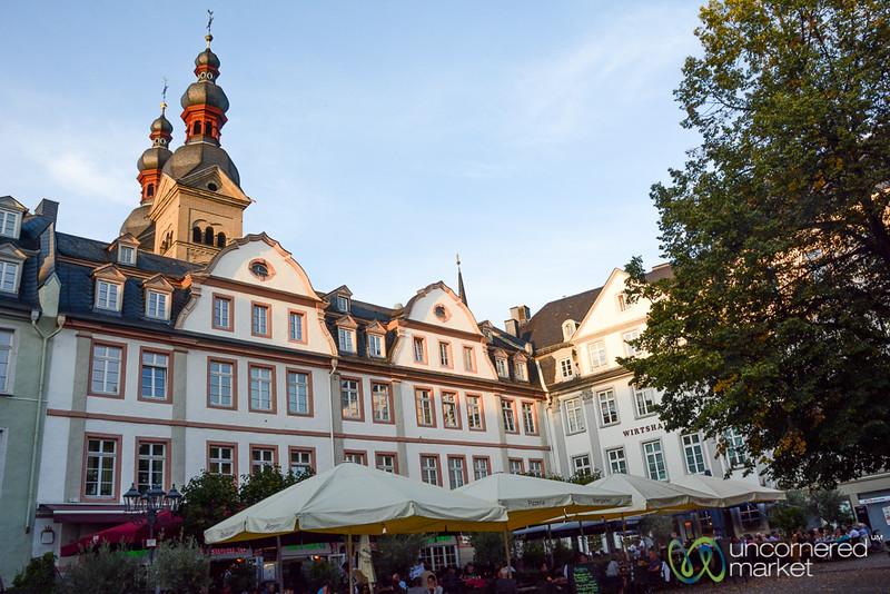 Koblenz in Late Summer - Rhine Valley, Germany