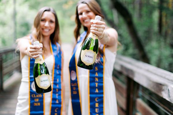 Aimee | Bridget UCSC Graduation 2020