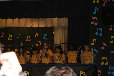 Courtney's School Choir - April 2013