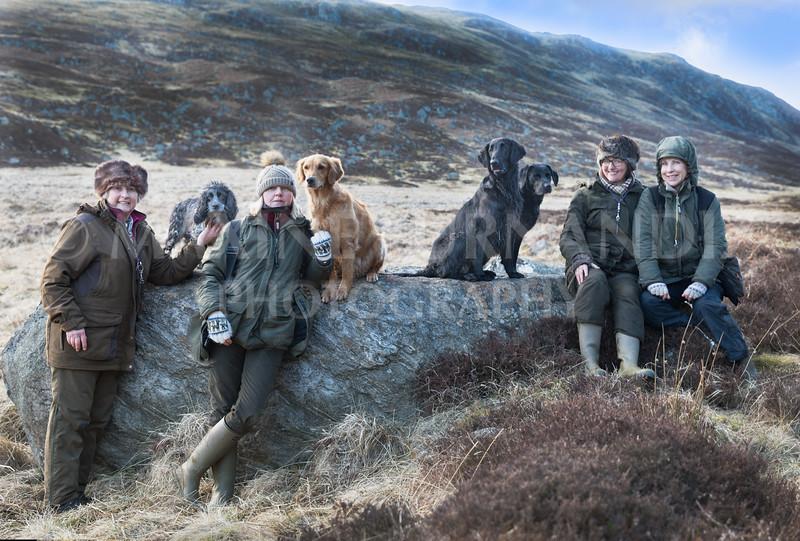 Max, Julia, Ali & Christine - Scotland