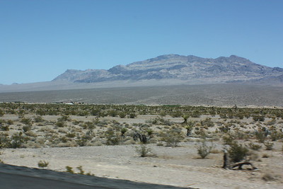 Drive through nevada