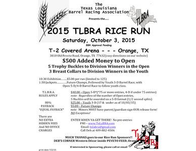 10-3-2015 TxLaBRA Rice Run Galleries