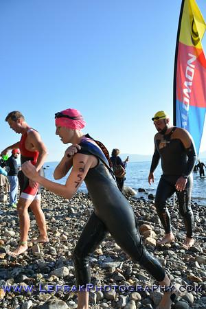 Lake Tahoe Triathlon 2014 Sprint Swim