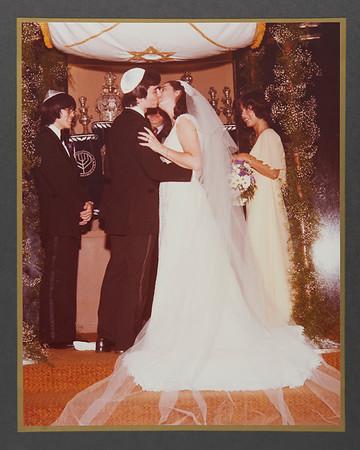 Ellen & Steve's Wedding Album Digital Conservation - Sample