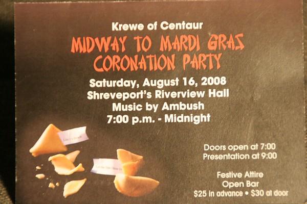 2008 - 08-16 Krewe of Centaur Midway to Mardi Gras