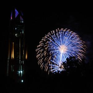 Naperville Fireworks - 2011